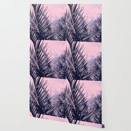 Summer Palms - Cali Vibes #2 #tropical #decor #art #society6 Wallpaper