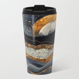 Metallic Mountains Metal Travel Mug
