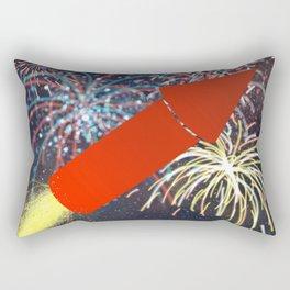 Fireworks Technician Rectangular Pillow