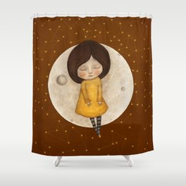 Moon Song 2 Shower Curtain