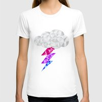 bisexual T-shirts featuring Bisexual Storm Cloud by Casira Copes
