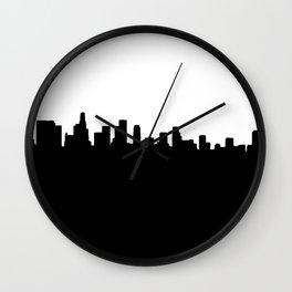Los Angeles Shadow Wall Clock