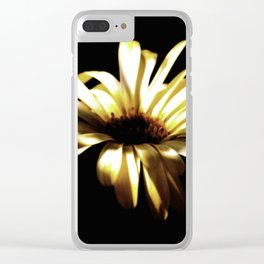 Summer Shadows On Flowers Clear iPhone Case