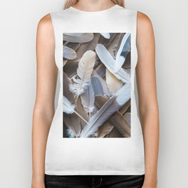 Feather Collection Biker Tank