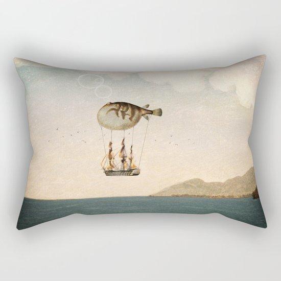 The Big Journey Rectangular Pillow