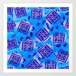 Mosaic Pattern Art Print
