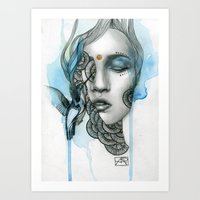 Animal Spirits: Hummingbird Art Print