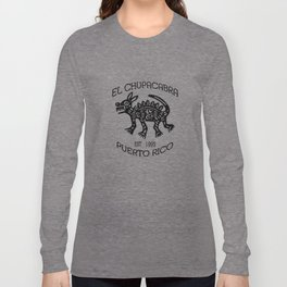 El Chupacabra Long Sleeve T-shirt