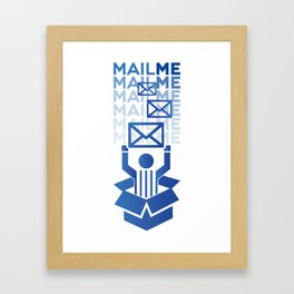 MailMe  Framed Art Print