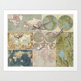 Flight Patterns Art Print