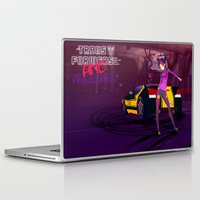 grand theft auto Laptop & iPad Skins featuring Grand Theft Autobot 2 by 88bullets
