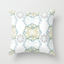 Moroccan Spice Dragonfly Throw Pillow