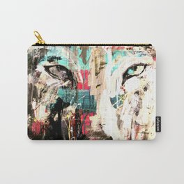 Silverwolf, wolf, painting, wolfpack. Carry-All Pouch