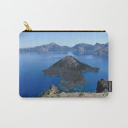 Crater Lake Volcanic Crater Oregon USA Carry-All Pouch