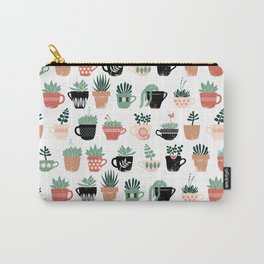 Windowsill Succulents Carry-All Pouch
