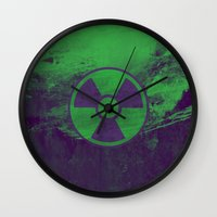 hulk Wall Clocks featuring Hulk by Some_Designs