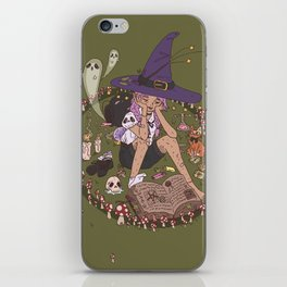 Fairy Ring Witch iPhone Skin