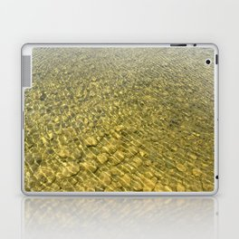 Water background with stones Laptop & iPad Skin
