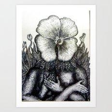 Plantform Art Print
