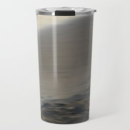 Beach section - abstract seascape Travel Mug