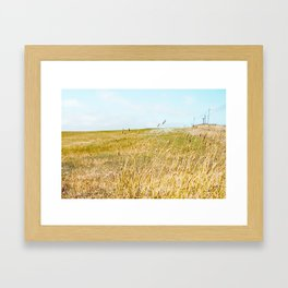 The Sound Of Crickets In Tall Grass Framed Art Print