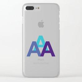 TRIALPHA Clear iPhone Case