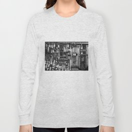 B&W Fishing Shack Long Sleeve T-shirt