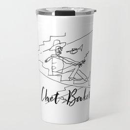 Chet - Great Jazz Musician Travel Mug