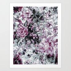 garden in my dream II Art Print