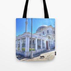 Istanbul Mosque Cat Tote Bag