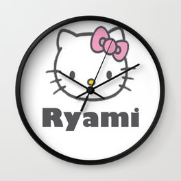 hellokitty Wall Clock