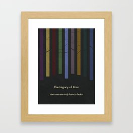 Legacy of Kain Triptych :: The Scion of Balance Framed Art Print