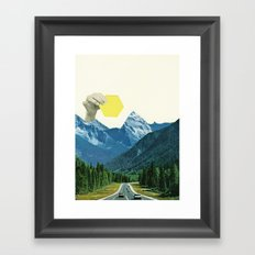 Moving Mountains Framed Art Print