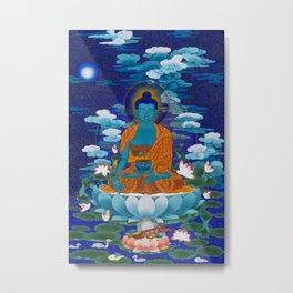Medicine Buddha Metal Print