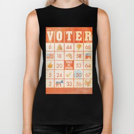 The Bingo Vote Biker Tank