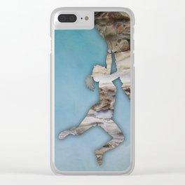 Climb On II Clear iPhone Case