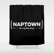 Naptown | the city that sleeps | Indianapolis Shower Curtain