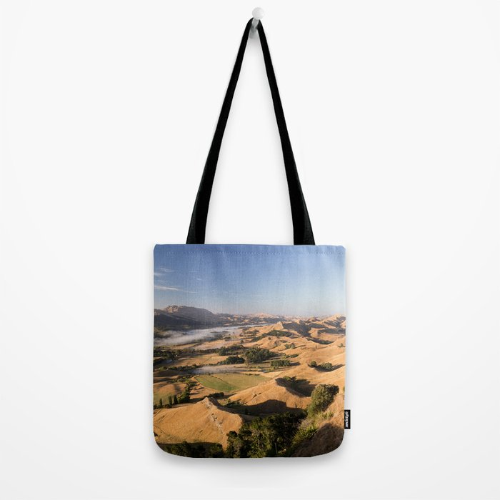 Moutain blue sky Tote Bag