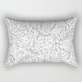 A Spring Mess Rectangular Pillow