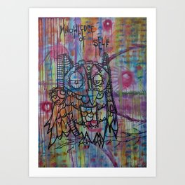 Knowledge of Self Art Print