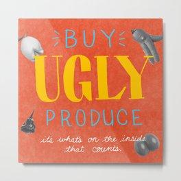 Buy Ugly Produce Metal Print