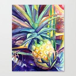 Kauai Pineapple 4 Canvas Print