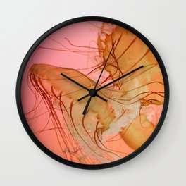 even more jellyfish Wall Clock