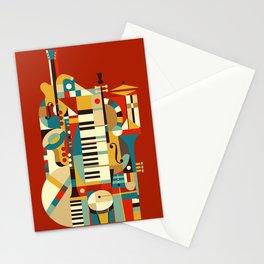 Jazz Fusion Stationery Cards