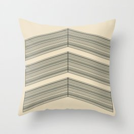 String Badge Throw Pillow