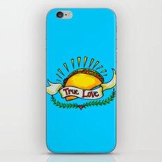 True Love Tacos iPhone & iPod Skin