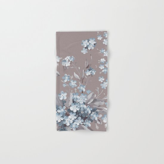 FLORAL PATTERN 2 Hand & Bath Towel