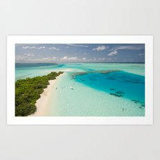 Tropical Delight Art Print