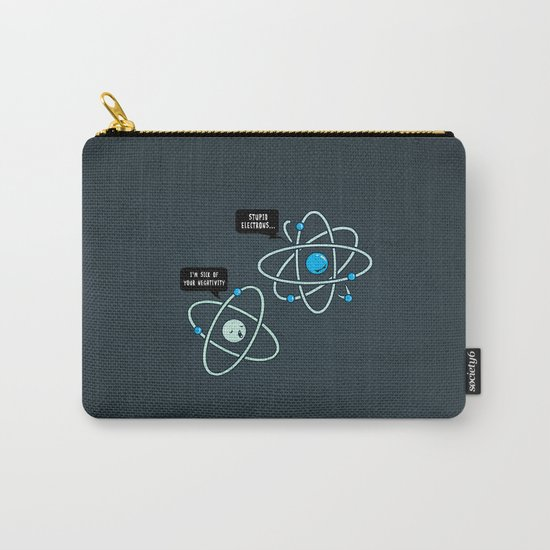 Negative Atom Carry-All Pouch