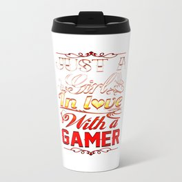 In love with a Gamer Travel Mug